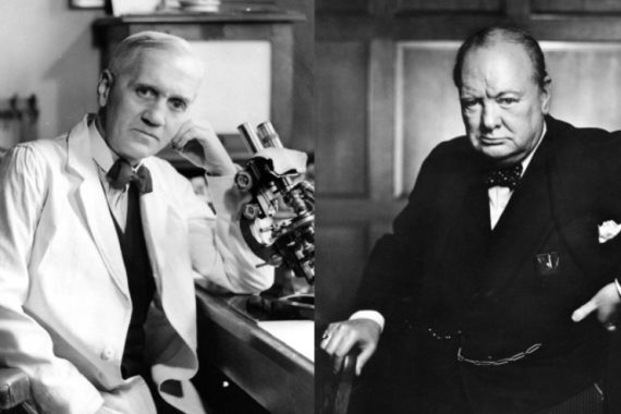 La storia romanzata di Fleming e Churchill